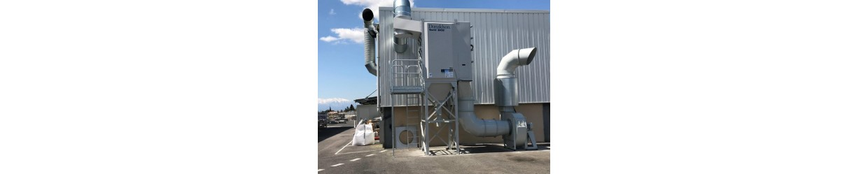 Ventilation industrielle, Filtration
