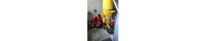 Maintenance sablage/grenaillage