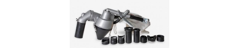 Sableuses portables et à recyclage d'abrasif